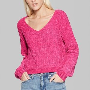 CLOSET CLEAR-OUT Chenille Pullover Sweater
